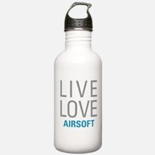 Live Love Airsoft Water Bottle