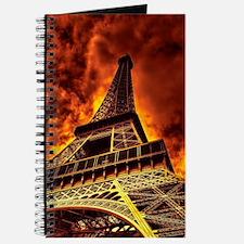 Eiffel Tower in fire Journal