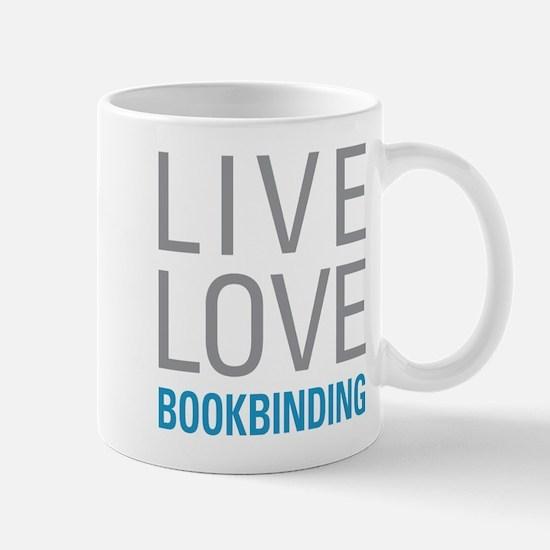 Live Love Bookbinding Mugs