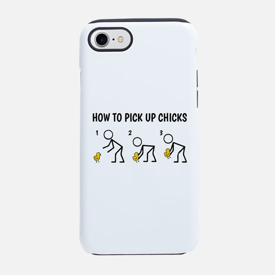 How To Pick Up Chicks iPhone 8/7 Tough Case