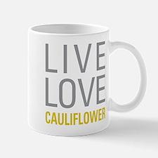 Live Love Cauliflower Mugs