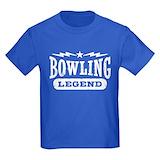 Bowling legend Kids T-shirts (Dark)