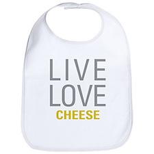 Live Love Cheese Bib