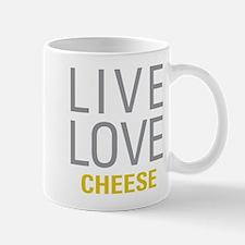 Live Love Cheese Mugs