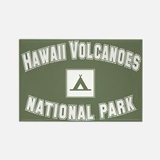 Hawaii Volcanoes National Park Rectangle Magnet