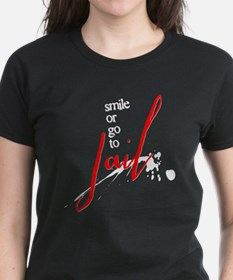 Smile or Go to Jail Tee