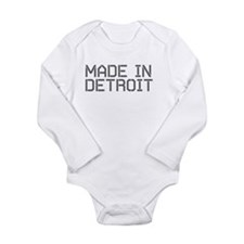 Unique Urban chic Long Sleeve Infant Bodysuit