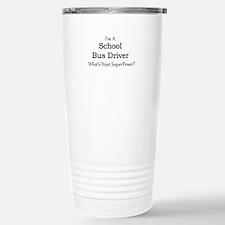 School Bus Driver Travel Mug
