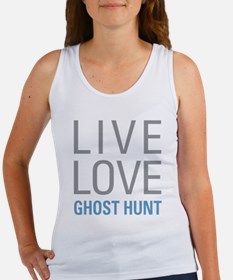 Live Love Ghost Hunt Tank Top
