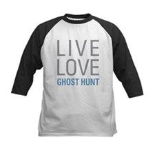 Live Love Ghost Hunt Baseball Jersey