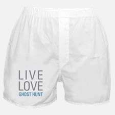 Live Love Ghost Hunt Boxer Shorts