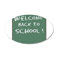 Welcome Back To School Wall Decal