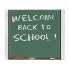 Welcome Back To School Throw Blanket