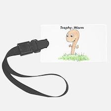 Trophy Worm Luggage Tag