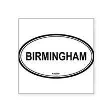 "Cool Birmingham Square Sticker 3"" x 3"""
