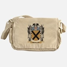 Micallef Coat of Arms - Family Crest Messenger Bag