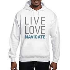 Live Love Navigate Jumper Hoody