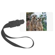 Meerkat013 Luggage Tag