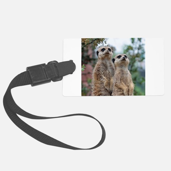 Meerkat013 Luggage Tag