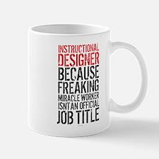Instructional Designer Job Title Mugs