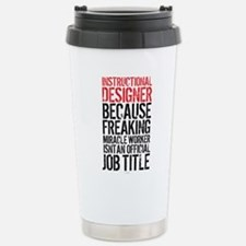 Instructional Designer Stainless Steel Travel Mug