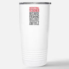 Instructional Designer Stainless Steel Travel Mug