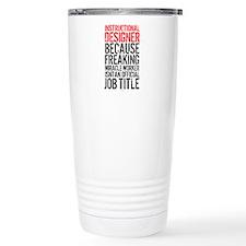 Instructional Designer Thermos Mug