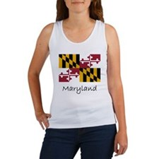 Flag And Name Women's Tank Top