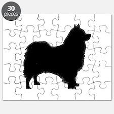 icelandic sheepdog silhouette Puzzle