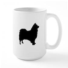 icelandic sheepdog silhouette Mugs