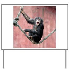 Chimpanzee001 Yard Sign