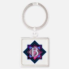 Cool Belinda Square Keychain
