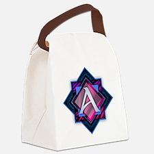 Unique Aaron Canvas Lunch Bag
