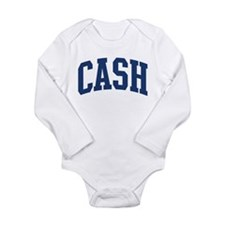 Cute Cash Long Sleeve Infant Bodysuit