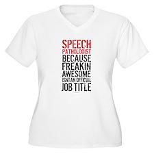 Speech Pathologist Awesome Plus Size T-Shirt