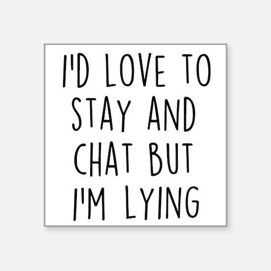 I'm Lying Sticker