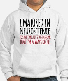 Majored in Neuroscience Hoodie