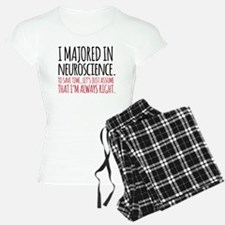 Majored in Neuroscience Pajamas