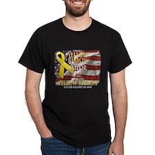 Yellow ribbon Sailor T-Shirt
