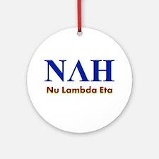 Nah Round Ornament