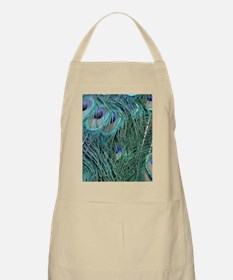Natural Peacock Feathers Apron
