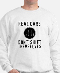Real Cars Don't Shift Themselves Jumper