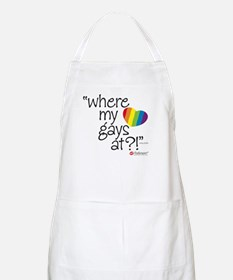 Where My Gays At? Apron