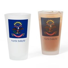 Flag And Name Drinking Glass