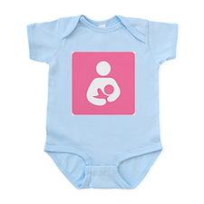 Breastfeeding Symbol Infant Bodysuit