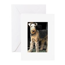 Airedale Terriers Greeting Cards (Pk of 10)
