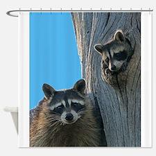 Mom & Baby Shower Curtain