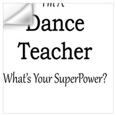 Dance Teacher Wall Decal