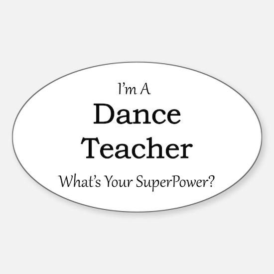 Dance Teacher Decal