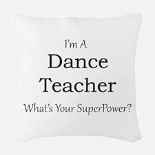 Dance Teacher Woven Throw Pillow